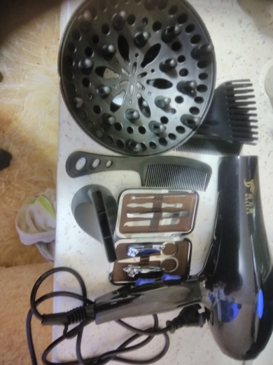 Professional Hot/Cold Air Blow Hair Dryer For Salons and household photo review