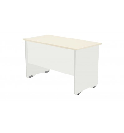 OFFICE TABLE SERIALS WORK 120X60 WHITE/BEECH
