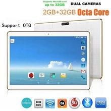 10.1 Inch Tablet PC RAM ROM 2+32GB Dual Card Dual Standby Dual Camera 4.0 Phone Wifi Tablet