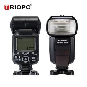 Image 3 - Triopo TR 982III TR 982 III Flash Speedlite HSS Multi LCD Wireless Master Slave Mode Flash Light For CANON NIKON DSLR Camera
