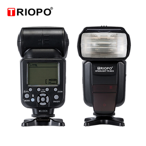 Image 3 - Triopo TR 982III TR 982 III פלאש Speedlite HSS רב LCD אלחוטי מאסטר Slave מצב אור פלאש עבור CANON ניקון DSLR מצלמה