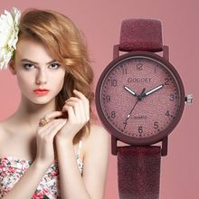 цена на Gogoey Women Watches Leather Personality Romantic Wrist Watch Ladies Watch Clock zegarek damski Watch For Women reloj mujer saat