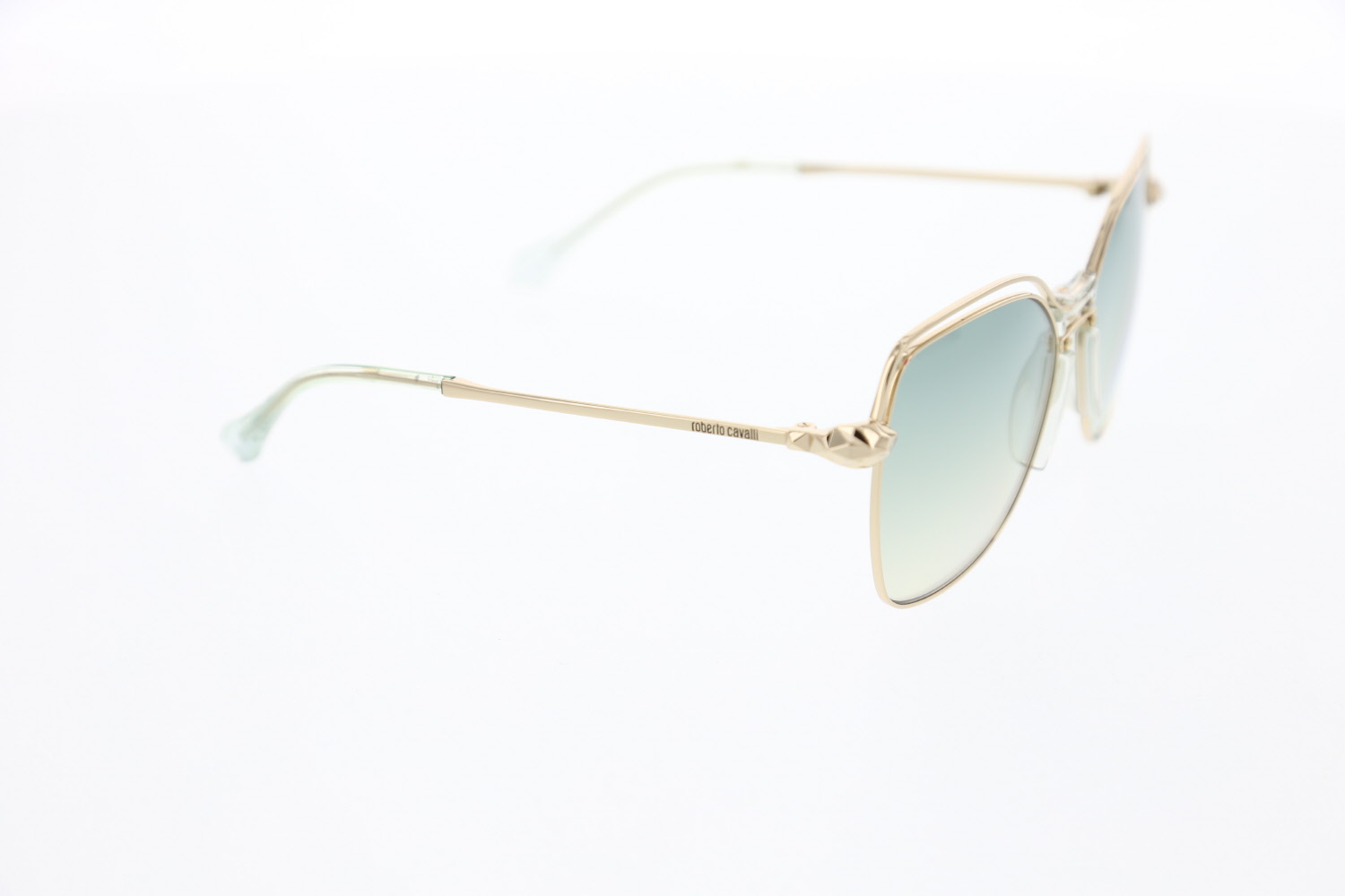 Women's sunglasses rc 1083 32q metal gold organic Butterfly Square 58-16-140 roberto cavalli