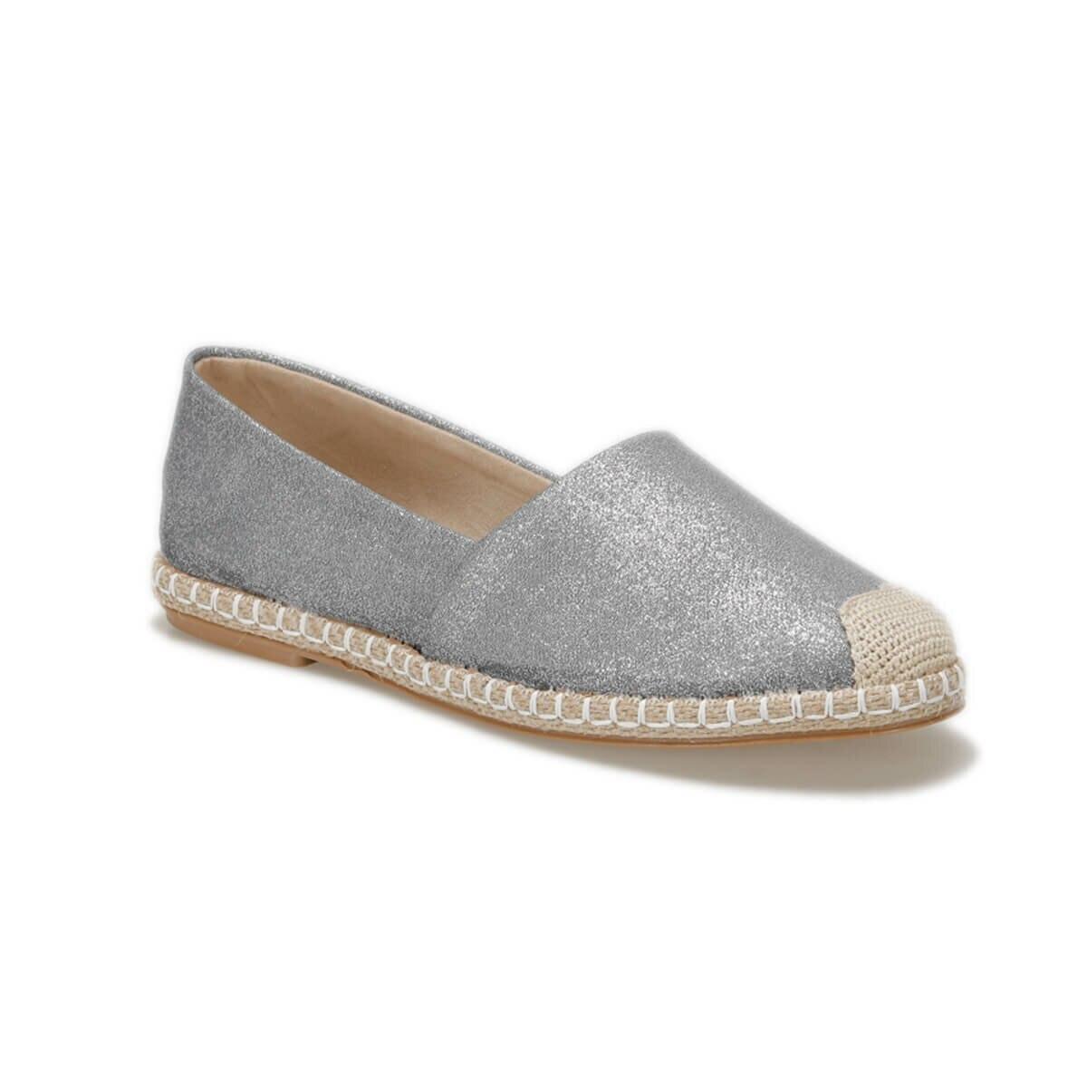 FLO OKOCHA06Y Silver Women Espadril Shoes BUTIGO