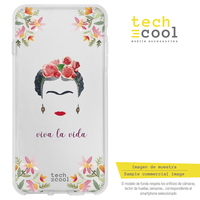 FunnyTech®Silicone Case for Samsung Galaxy A50 l Frida transparent characters designs illustrations 1