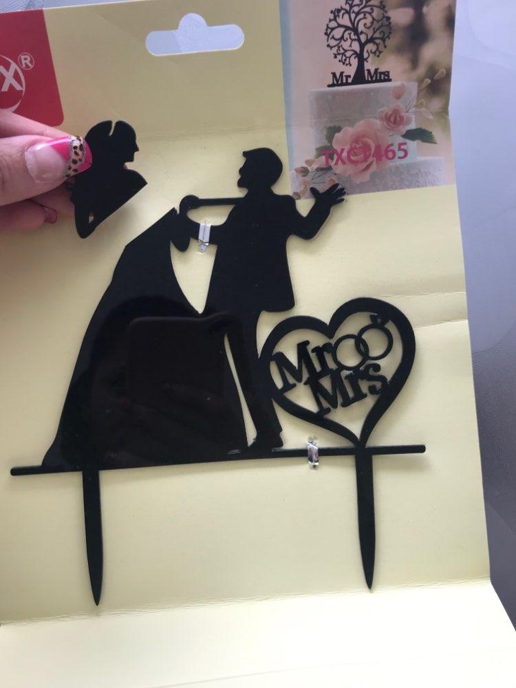 Materiais p/ decoração de bolo Engraçado Topper Acrílico