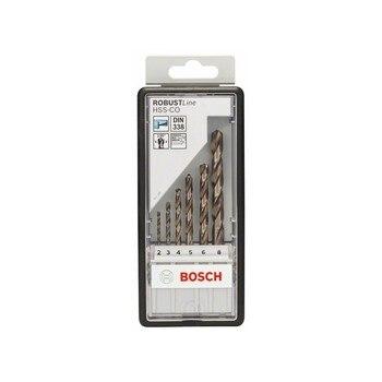 BOSCH Hss Co DIN338: Robustline set 6 pcs: 2 8|Power Tool Sets| |  -