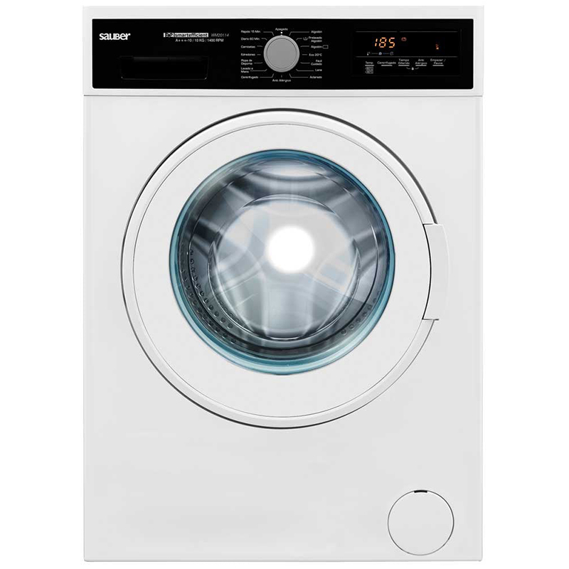 Washing Machine Front Loaded WM20114 10 Kg 1400 Rpm To +++ White