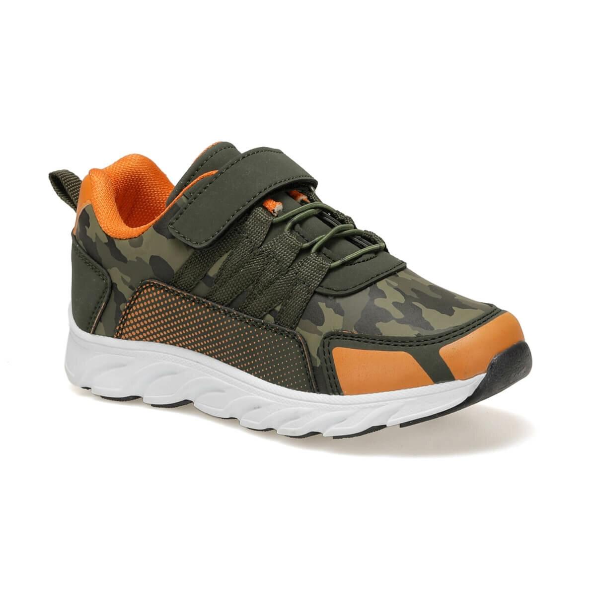 FLO MIRIN Khaki Male Child Hiking Shoes I-Cool