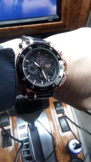 LIGE Sport Watch Men Top Brand Leather Watches Men Quartz Clock Male Military Waterproof Student Fashion Watch Relogio Masculino
