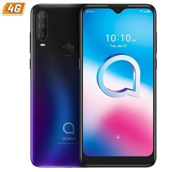 Перейти на Алиэкспресс и купить Alcatel 3l 2020 blue-6,22 '/15,79 см hd + - oc - 4 Гб ram мобильный phone-64gb-cam (48 + 5 + 2)/8mpx - android 10 - 4g - dual