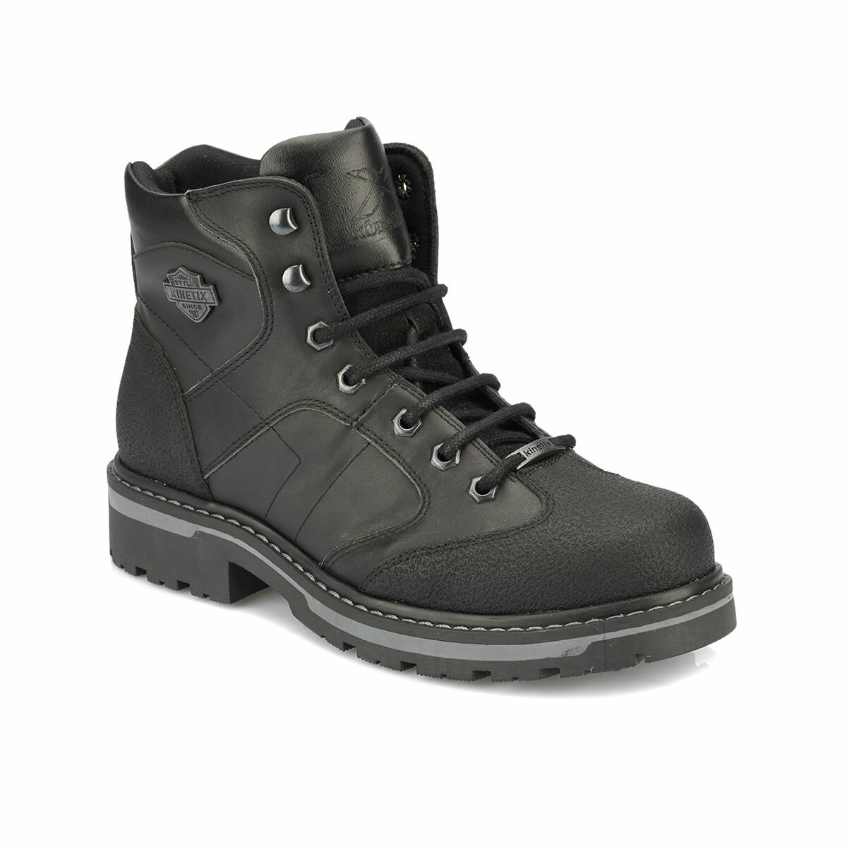 FLO ALAND Black Men Boots KINETIX
