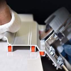 Tiling 45 градусов угловой режущий помощник инструмент плитка открытый внешний угол строительный инструмент для камнерезная машина