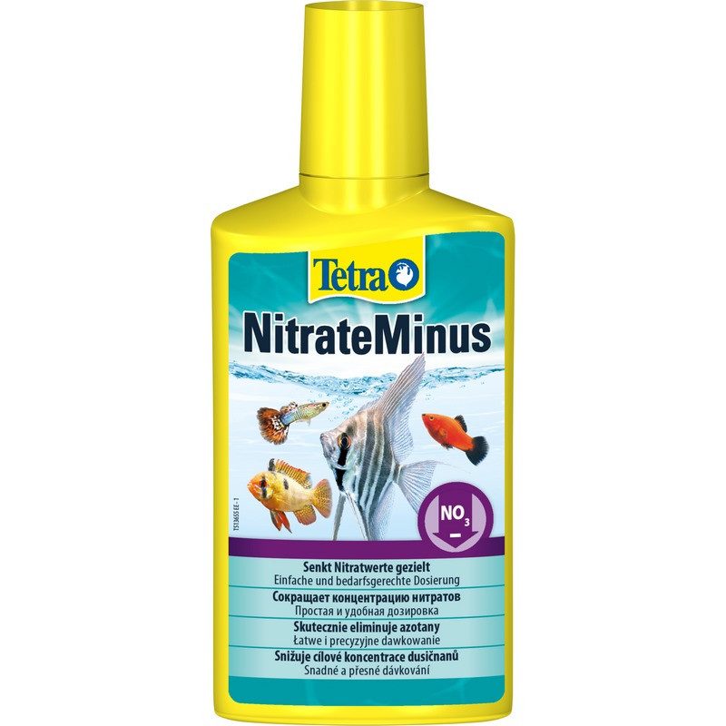 Tetra NitrateMinus liquid agent to reduce nitrate concentration, 250 ml. career concentration