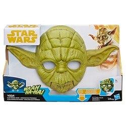 Máscara electrónica Hasbro de Star Wars-Yoda (Español)
