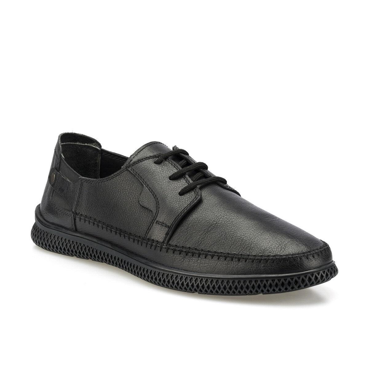 FLO 102071.M Black Men 'S Comfort Shoes Polaris 5 Point