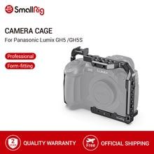 "Panasonic Lumix GH5 /GH5S 카메라 케이지 1/4 ""3/8 나사 구멍 + 콜드 슈 플레이트 나토 레일 마운트 키트 2646"