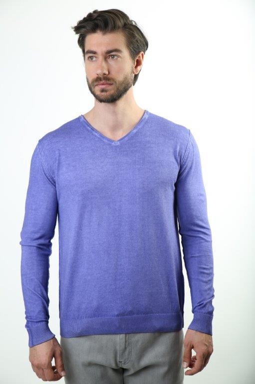 Sweater V-Neck Male Sweater 3133