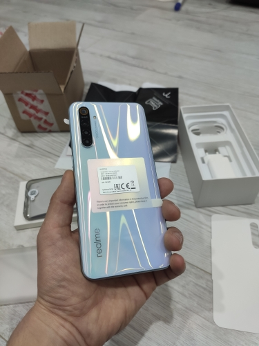 Smartphone realme XT, quad camera 64 MP, Snapdragon 712, fast charging VOOC, NFC, official Russian warranty Cellphones     - AliExpress