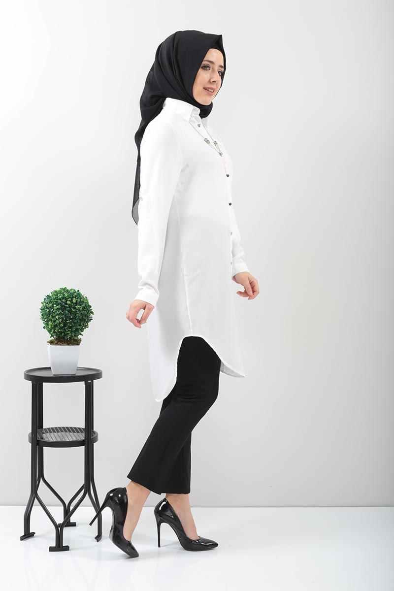 Collana Tunik NEW2010 Bianco