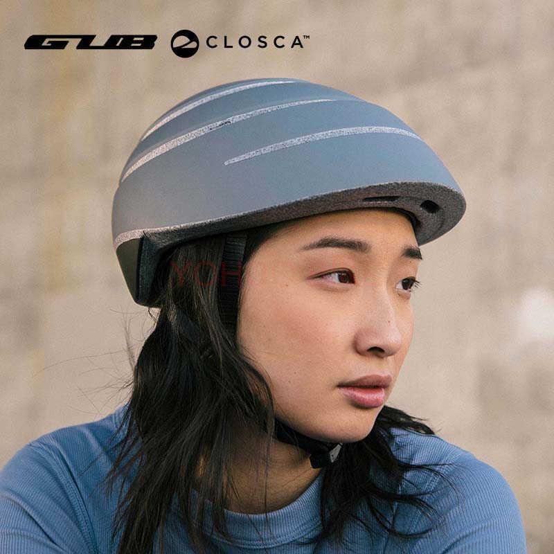 Шлем Gub Closca для мужчин и женщин, складной городской велосипедный шлем, городской дорожный велосипед, складной шлем, Размеры M L, Аксессуары для велосипеда