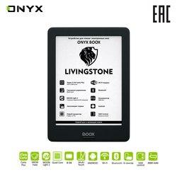Электронная книга ONYX BOOX LIVINGSTONE e-ink 6 читалка с подсветкой и сенсорным экраном