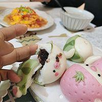 草莓猪&西瓜猪的做法图解29