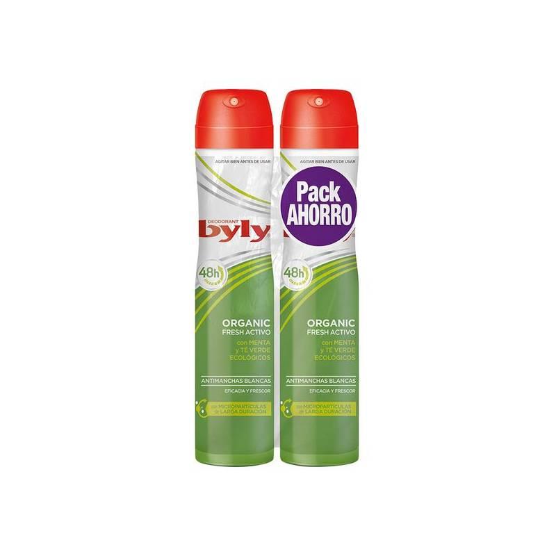 Deodorant Spray Organic Extra Fresh Byly (2 Pcs)