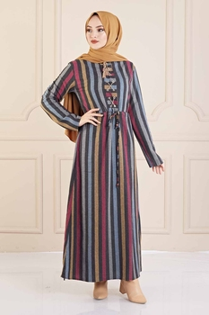 Turkish Clothes For Women Autumn Dress Muslim Garment eid Plus Size Dresses Moroccan caftan Moroccan tagine 3abaya garment hijab image