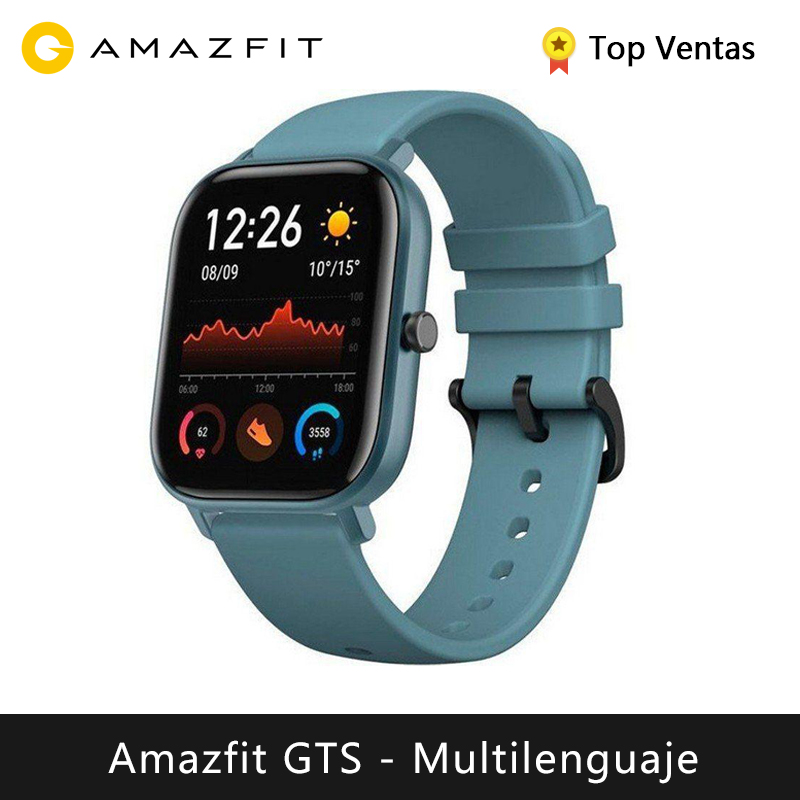 Huami Amazfit GTS Smart Watch (new Model Smart Watch GPS Bluetooth Sport Swimming Waterproof) [Global Version]