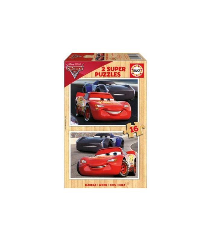 Puzzle Cars 3 2X16 Toy Store