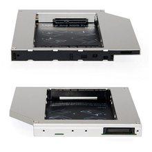 Kphrtek disco rígido universal, 1 peça de 12.7mm hdd 2.5mm com dvd em liga de alumínio/CD-ROM bay óptica para computador portátil