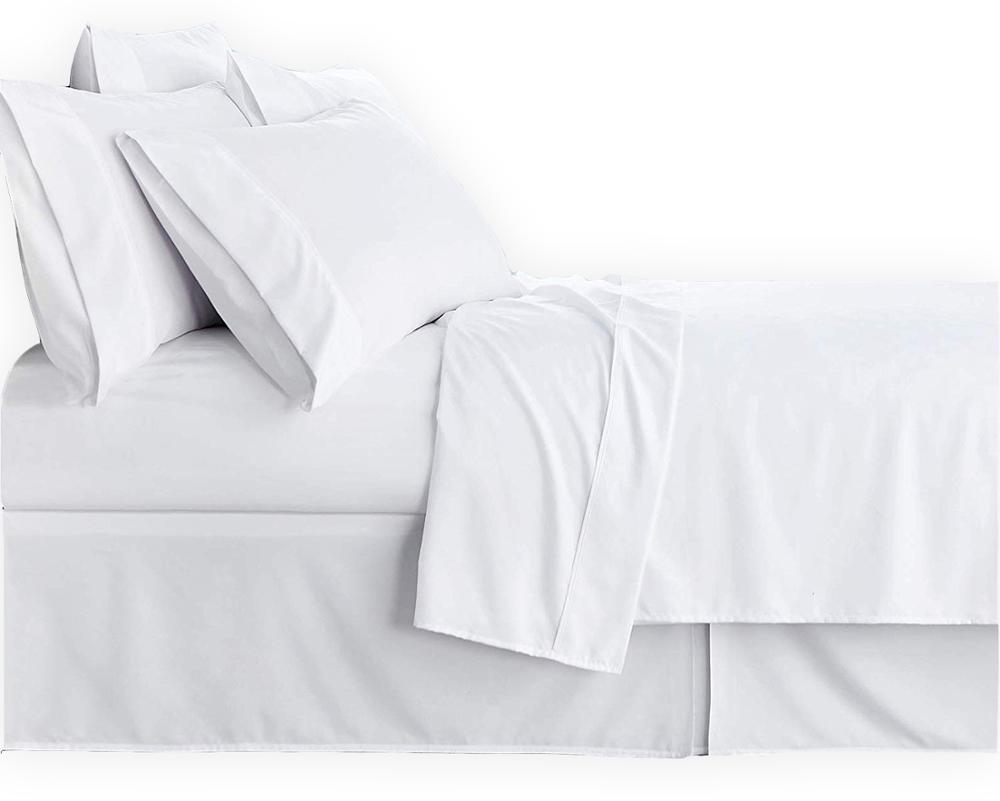 ADP Home-Pack 6 Und. Bett blatt eitelkeit top, 50/50% POLYCOTTON, Textil für HOTEL