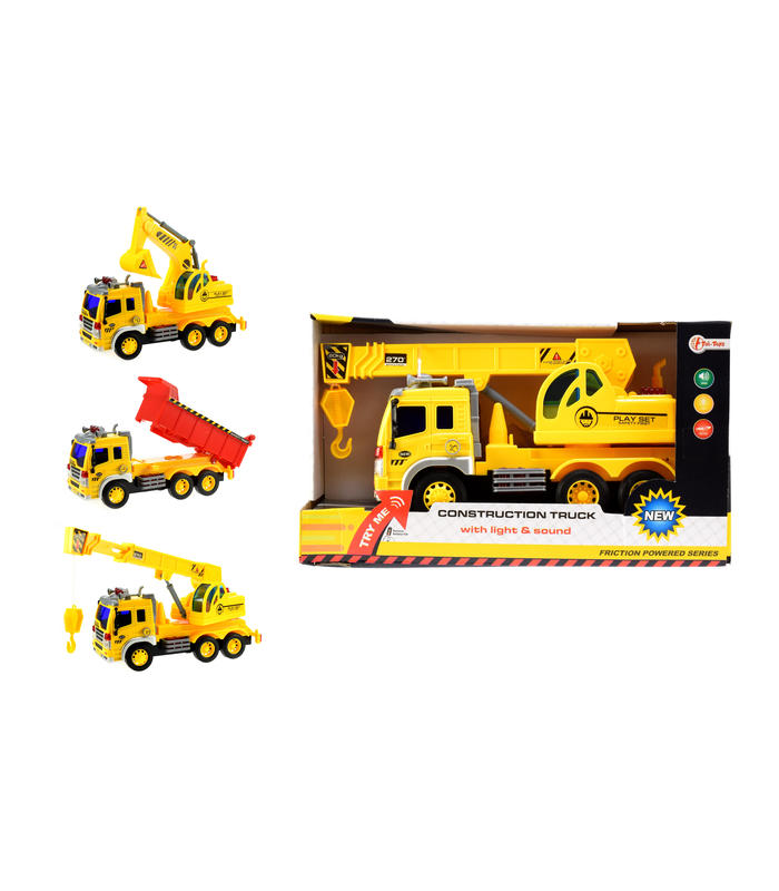 Super Construction Truck With L/S 3-Ass Toy Store Articles Created Handbook