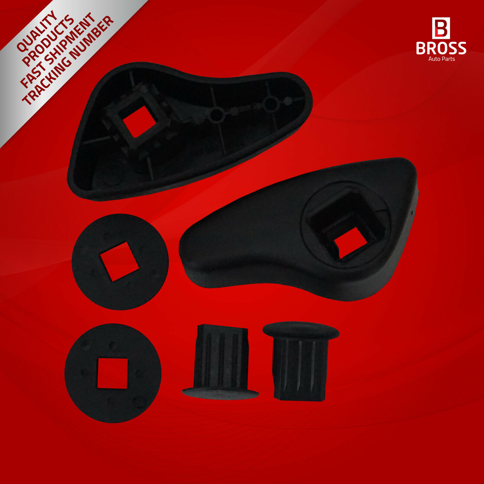 BDP621 Seat Handle Adjustment Grip Lever 7701205078-7701205079 Front Left And Right For Megane MK1; Kangoo MK1; Trafic MK2