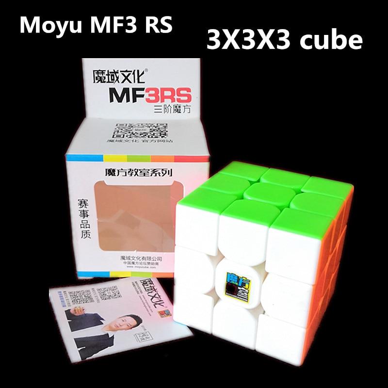 Moyu Mofangjiaoshi MF 3RS 3x3x3 Magic Cube MoYu MF3RS 3x3 Speed Cube MF3 RS V1 3x3 Puzzle Magic Cubo MoYu 3x3 Cube