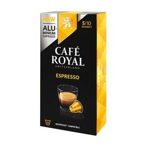 ESPRESSO, coffee Royal 10 compatible Nespresso aluminium capsules