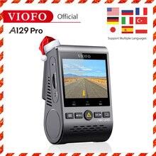 4K Dash Cam VIOFO A129 Pro DVR Ultra HD 4K Dash Camera Sony 8MP Sensor GPS Wi-Fi Buffered Parking mode G-sensor CAR camera new