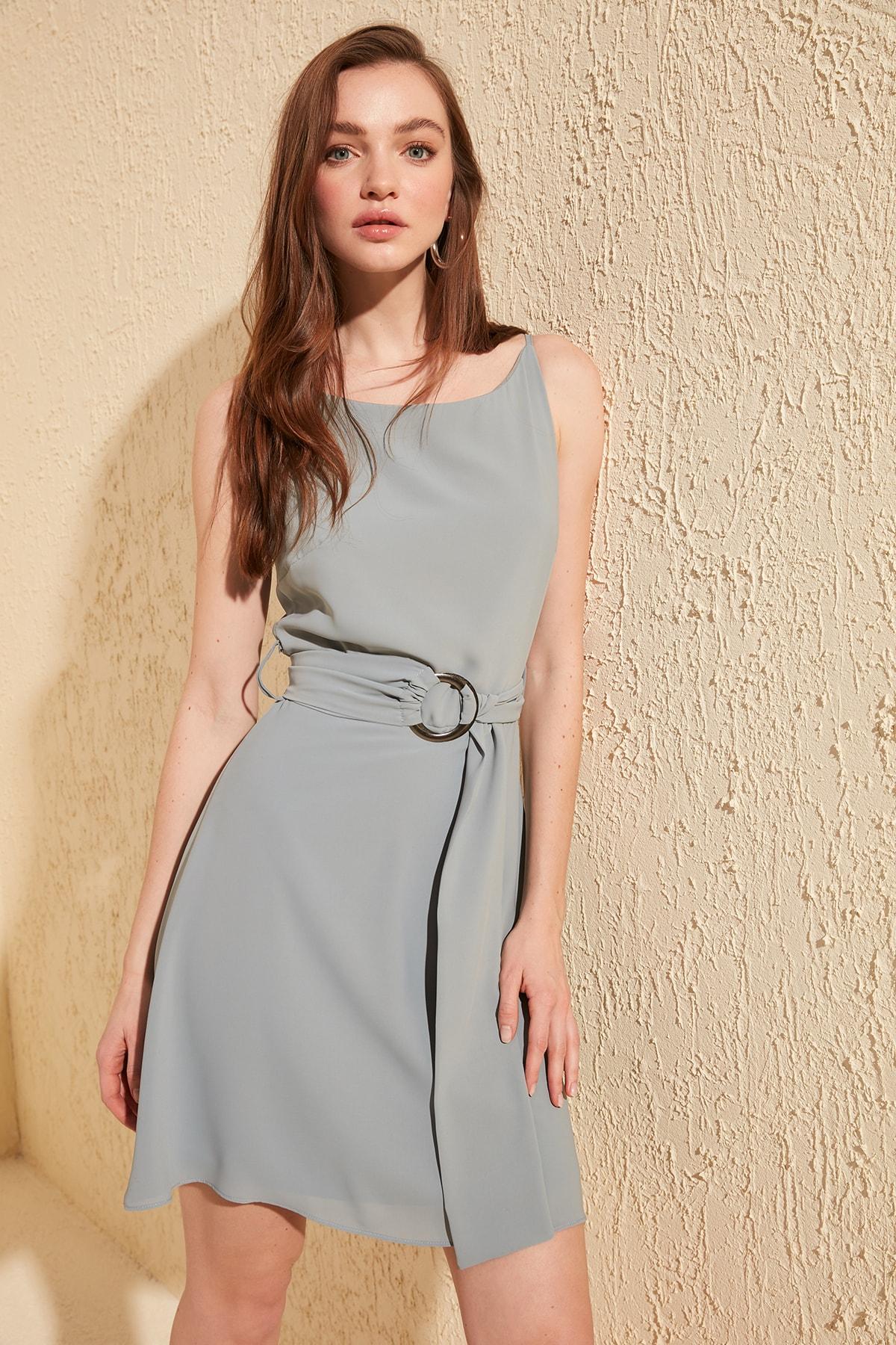 Trendyol Arched Dress TWOSS20EL0187