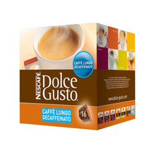Кофе в капсулах nescaffee dolcee Gusto 94331 caffette Lungo Decaffeinato(16 uds