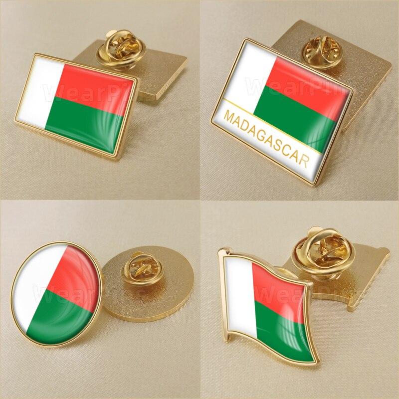 Set de Broderie Drapeau patch et insigne écusson patch et lapel pin Sierra Leone