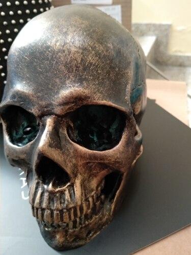 -- Crânio Bronze Artesanato