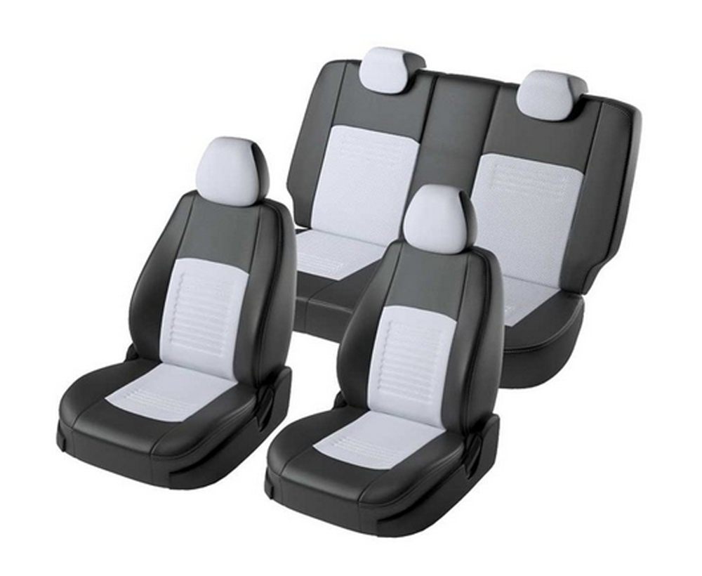Для Kia Rio  3 (UB) (Киа Рио) 2011 2017 гв. модельные чехлы на сиденья из экокожи [Модель Турин Экокожа] Чехлы на автомобильные сиденья      АлиЭкспресс