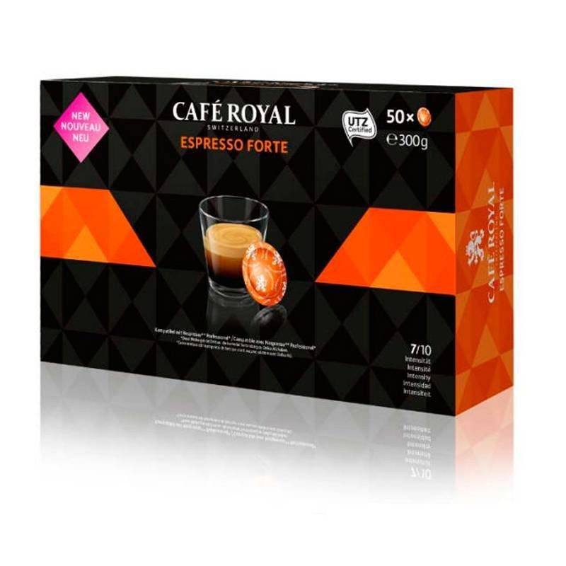 ESPRESSO FORTE Cafe Royal®For NESPRESSO®PRO®50 capsules