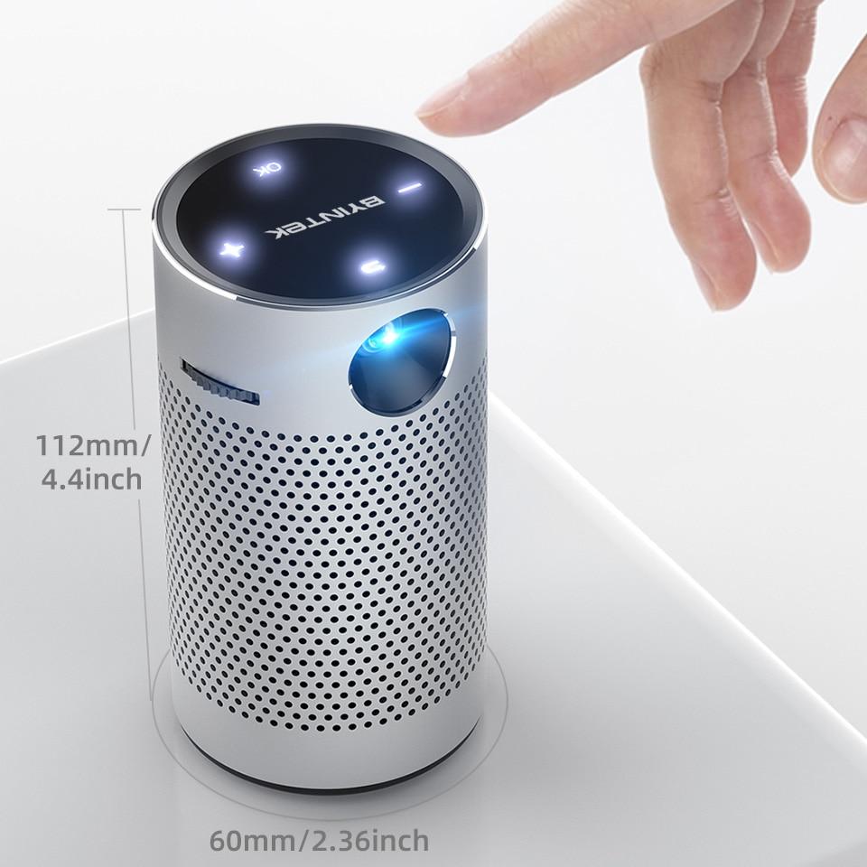 U8091af6ba51649d89d69a7b6c9cc0ff8m - モバイルプロジェクター android ポケット ポータブル Wifi 1080P 4K TV ミニLEDホームシアター 電話 DLP S204001170613738
