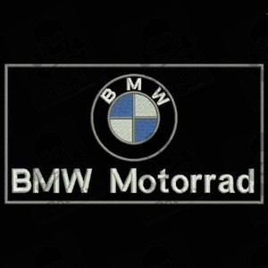 BMW MOTORRAD PARCHE BORDADO, iron patch, gestickter patch, patch brode, remendo bordado, toppa ricamata