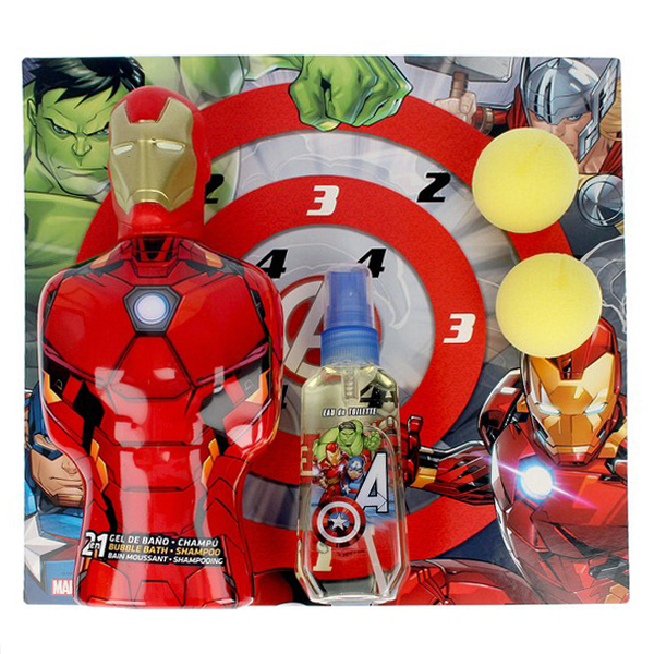 Child's Perfume Set Avengers Iron Man Cartoon EDT (3 pcs)