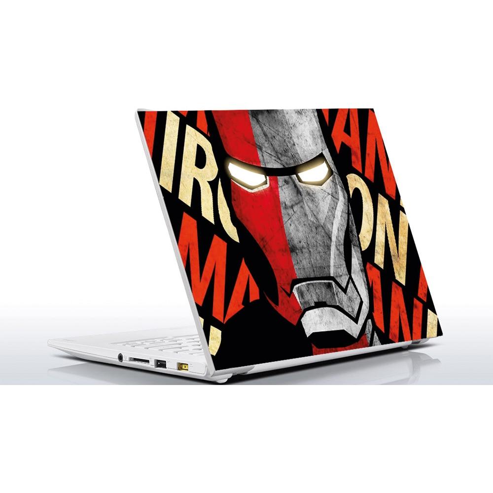 Ironman MacBook Decalcomania Adesivo Skin per pelli MacBook Pro Air 11 12 13 15 17 pollici