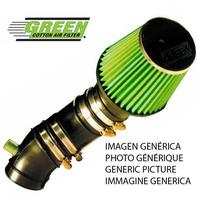 Jogo verde p248 admissão esportes aéreos diretos citroen saxo 1.6l 8 v 90hp 99 01 Conjuntos de filtro de ar     -