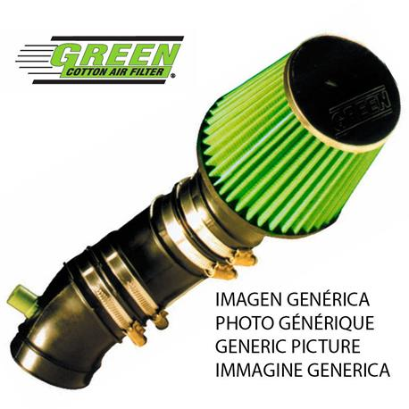 P410 Kit vert Admission directe sport aérien Nissan Navara Pick Up 2.5L TDI (D22) 104Cv 99-